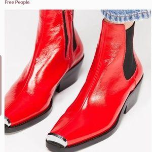 JEFFREY Campbell brisbane Chelsea boots